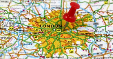 London kort
