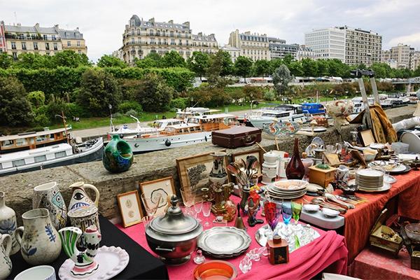 Loppemarked i Paris