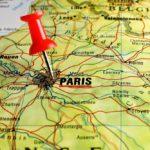 Paris kort