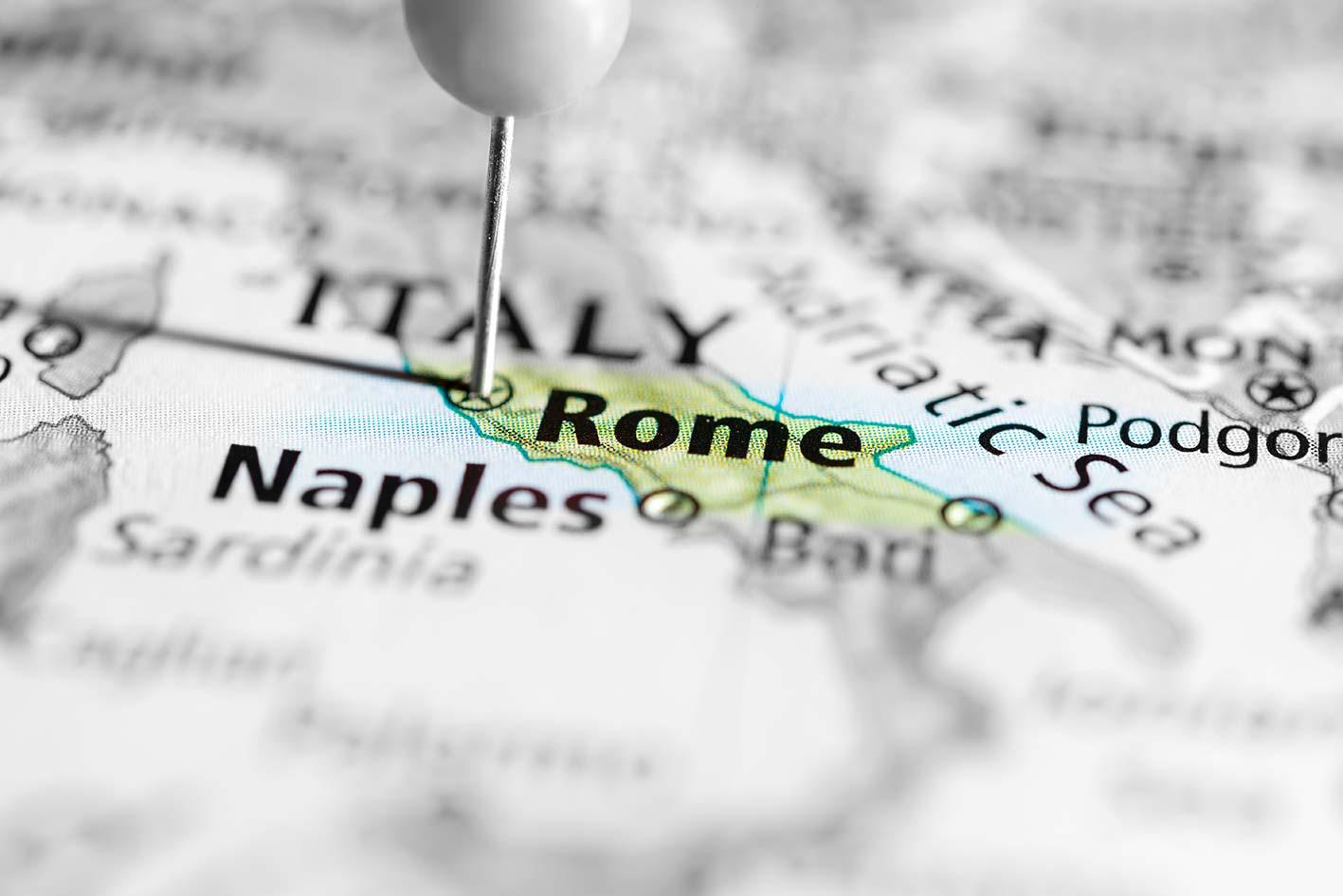 Rom Kort Kort Over Rom Med Sevaerdigheder Og Shopping
